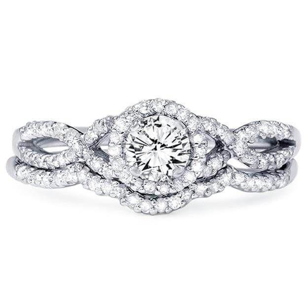 23 beautiful infinity wedding ring sets - Infinity Wedding Rings