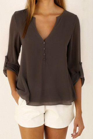 Cupshe Bright Morning Button Up Top