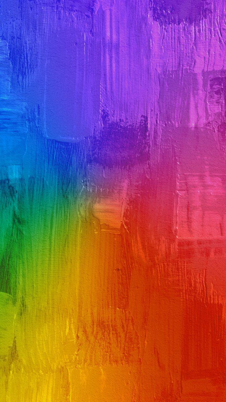 Fondo de colores arco iris   Rainbow wallpaper - #backgrounds #colores #colors