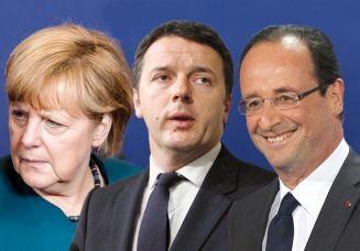 L'Italia si schiera con la Francia contro l'austerità ma non rifiuta il patto di stabilità. Intanto slitta al 2017 il vincolo di bilancio e il ministro dell'economia Padoan mette nero su bianco nuovi tagli e tasse.