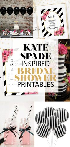 kate spade inspired bridal shower games printables kate spade bridal shower