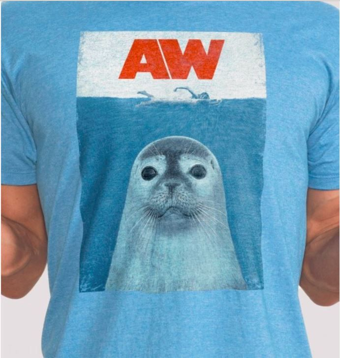 Seal Playing with A Ball Adult Mens Casual Long Sleeve Hoody T Shirts