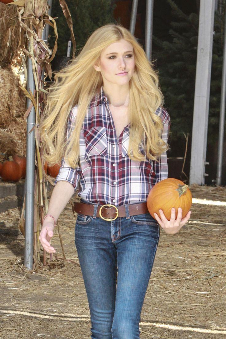 Katherine McNamara at Mr. Bones Pumpkin Patch in West Hollywood 10/12/14