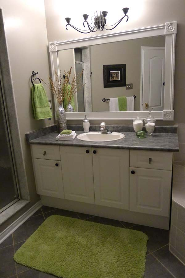 1000 ideas about green bathroom mirrors on pinterest green framed mirrors green bathroom colors and green small bathrooms