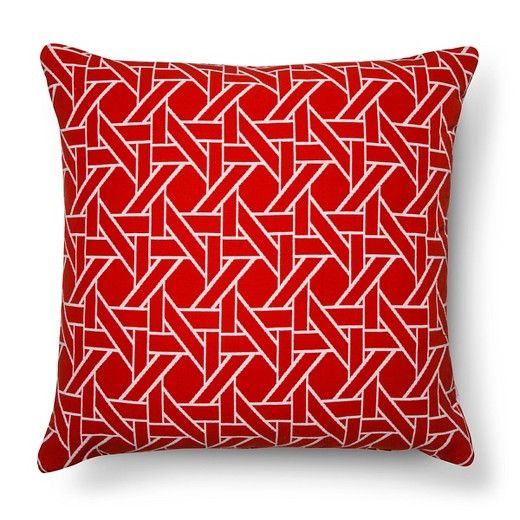 49--Oversized Throw Pillow Woven Caning - Threshold™ : Target
