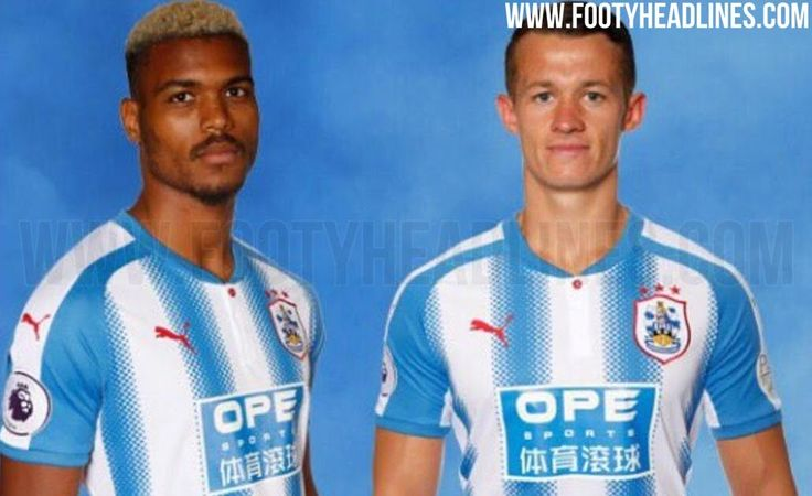 The Huddersfield Town 2017-2018 home kit introduces an odd look for the club's return to the Premier League, courtesy of Puma.
