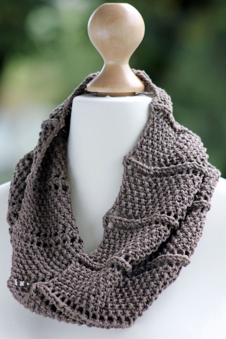 Easy Knitting Patterns Scarf : 2092 best images about knitted items on Pinterest