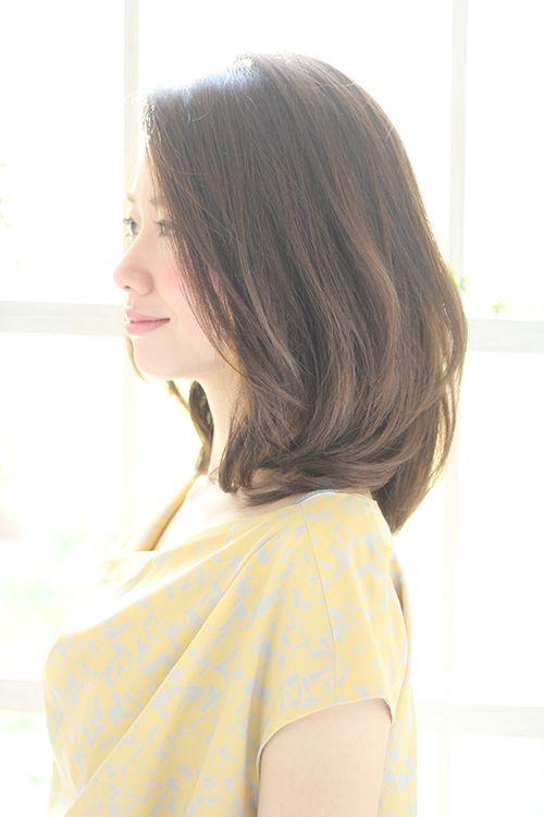 つやふわ美髪ミディアム | ヘアカタログ | ヘアサロン(東京青山/大阪/神戸)K-two effect