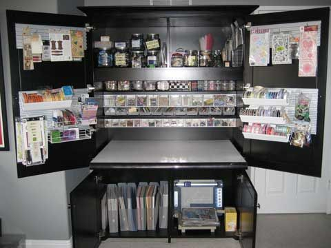 Nice Design Your Own Hobby Hideaway Craft Storage Cabinet To Meet Your Own  Specific Needs.