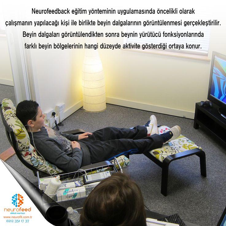 Neurofeedback eğitim yönteminin uygulamasında öncelikli olarak çalışmanın yapılacağı kişi ile birlikte beyin dalgalarının görüntülenmesi gerçekleştirilir. Beyin dalgaları görüntülendikten sonra beynin yürütücü fonksiyonlarında farklı beyin bölgelerinin hangi düzeyde aktivite gösterdiği ortaya konur.  Ek olarak uygulanabilecek çeşitli testler vardır. Bunlar; dikkati ölçen, konsantrasyonu ölçen, dürtüselliği ölçen testler olabilmektedir. Bu testler ile de ilk başta yapılan beyin dalgalarının…