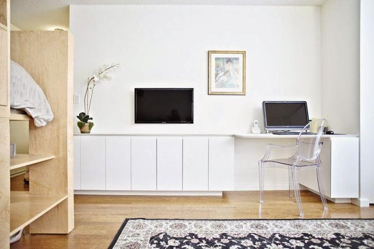 Дизайн однокомнатной квартиры: Решение проблем хранения в маленькой комнате