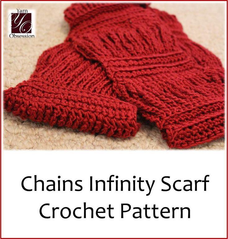 Infinity Scarf Knitting Pattern Lion Brand : 414 best Knit & Crochet Scarves images on Pinterest Ponchos, Crochet sc...