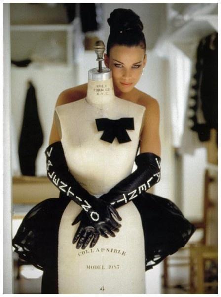 Valentino + dress form