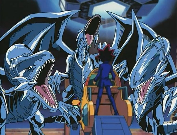 yugioh the three headed blue eyes white dragon - Google Search