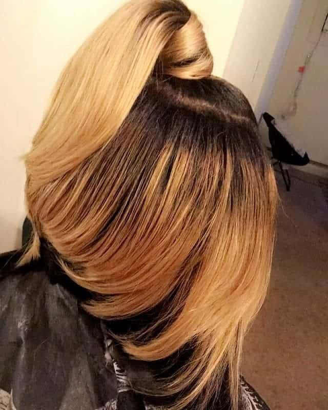 7 Irresistible Ponytail Bob Hairstyles For Modern Women Bob Hairstyles Hair Styles Balayage Hair Purple