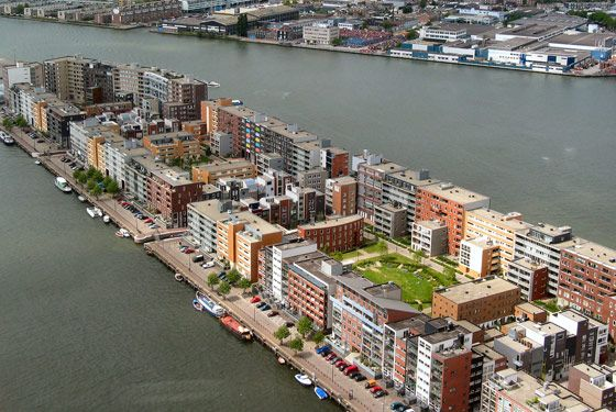 Java Eiland - Amsterdam. Soeters Van Eldonk architecten