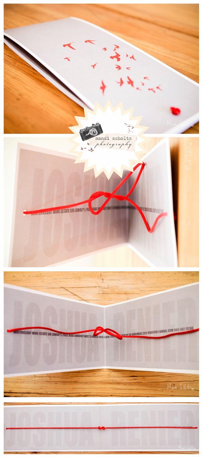 Mandi Scholtz Photography: Tying the knot wedding invite!
