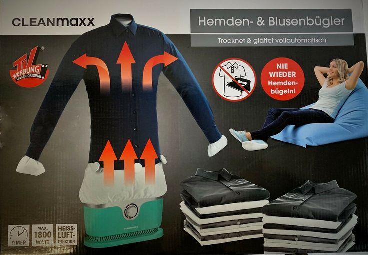 Cleanmaxx Bügler für Hemden und Blusen im Test – Aldido