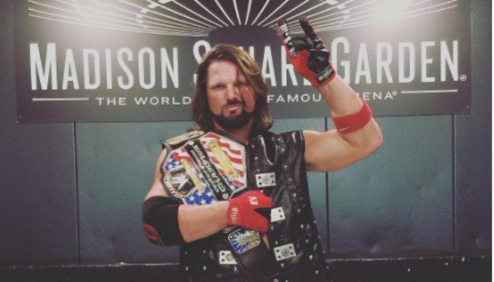 AJ Styles Comments On His US Title Win, Brock Lesnar Being Advertised For Another PPV