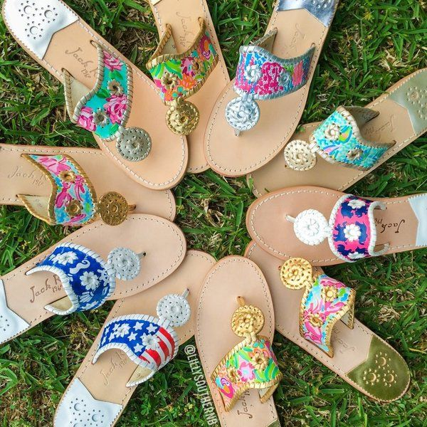 CREATE YOUR OWN Hand Painted Jack Rogers | Lilly Southern Boutique