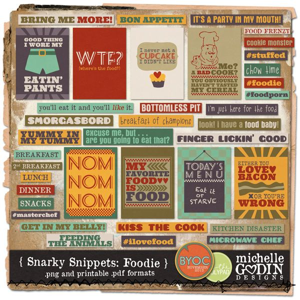 Snarky Snippets: Foodie