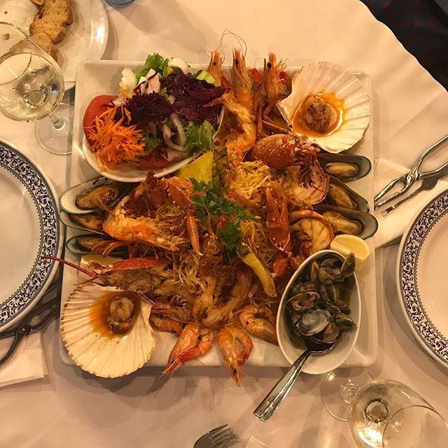 Photo of Delicious seafood in our table Marisqueiradoporto Restaurant Delicious sea food …