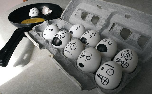 haahah....might have to do this to the eggs in the fridge