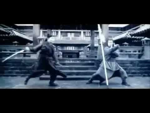 Hero Jet Li vs. Donnie Yen Fight Scene 2002 - Tim had mentioned wanting to see flowing sword choreography. (Jon Jon Johnson)