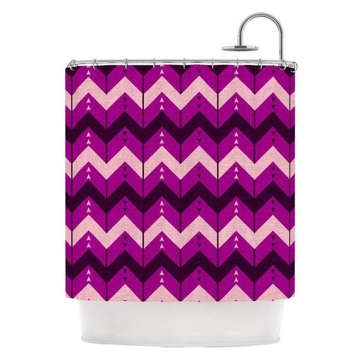 Best Chevron Stripe Shower Curtain Gallery - 3D house designs ...