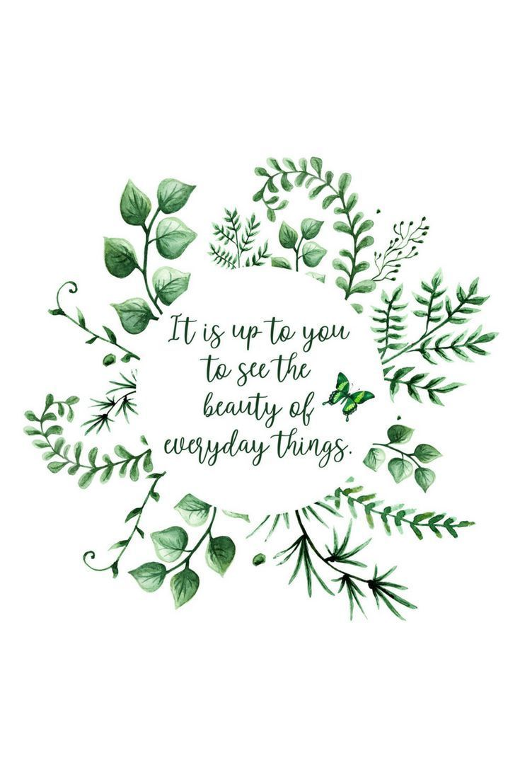 Daily Beauty Wall Art Printable Memory – It's up to you to see the beauty …