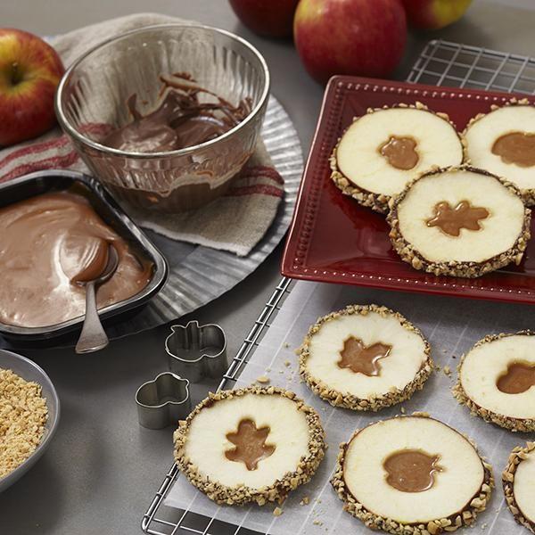 Karamell-Apfelscheiben – Wie auch immer Sie sie in Scheiben schneiden, diese Karamell-Äpfel sind köstlich und …   – Food