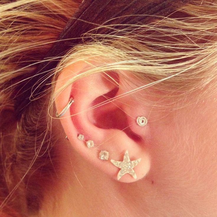 Swirl tragus earring | My Style | Pinterest | Earrings ...