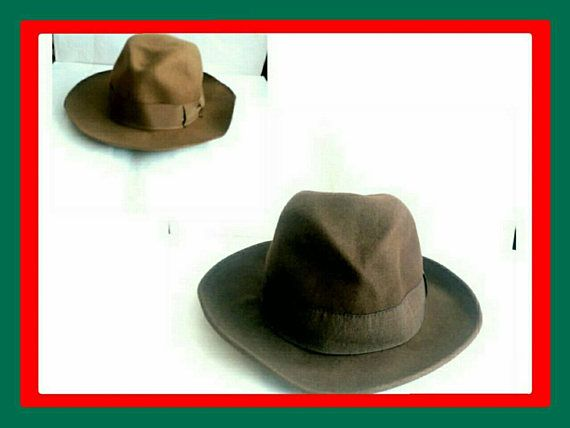 Check out this item in my Etsy shop https://www.etsy.com/uk/listing/576724723/sisley-italian-wool-homburg-fedora-hats