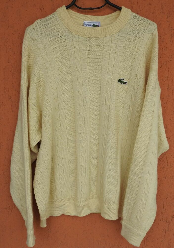 Lacoste Girls Ruffled Sleeves Sweater