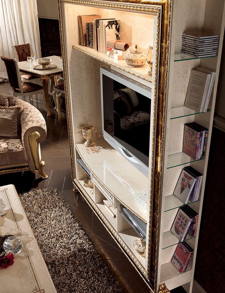 Raffaello Rollection Living Room, TV Wall Unit www.arredoclassic.com/living-room/tv-cabinets-raffaello
