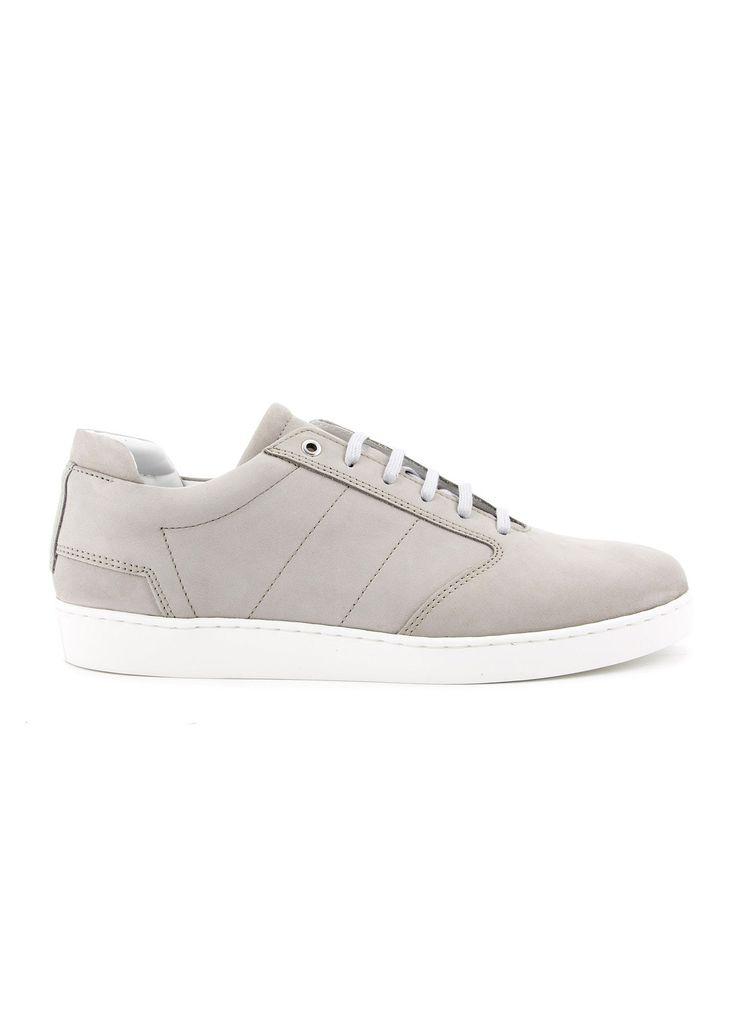 Want Les Essentiels - SS17 - Menswear // Grey Lennon suede sneakers