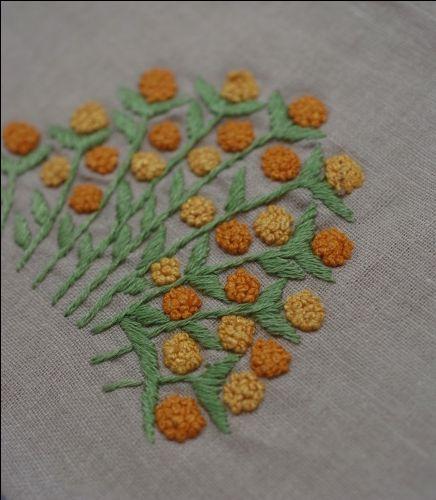 花盛り オレンジ