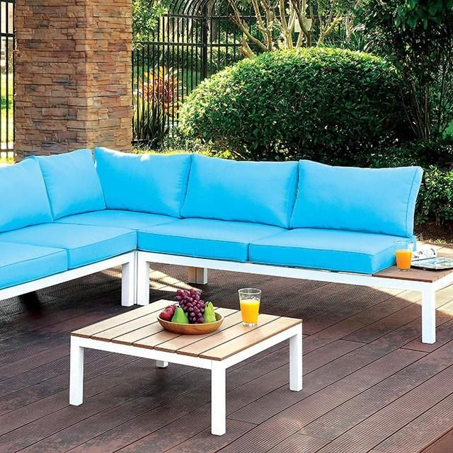 furniture of america winona outdoor sectional set las vegas furniture online lasvegasfurnitureonline lasvegasfurnitureonline - Garden Furniture Las Vegas