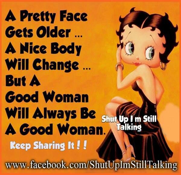 I love Betty Boop!