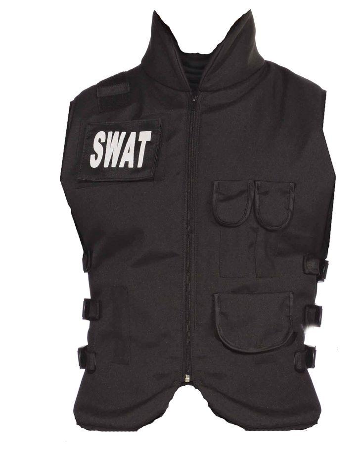 swat adult vest spirit halloween spirit halloweenswatbulletproof - Halloween Bullet Proof Vest