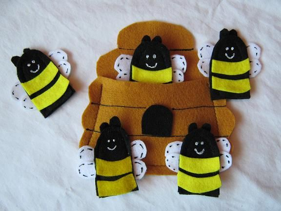 923 best images about finger puppets on pinterest felt for Bee finger puppet template
