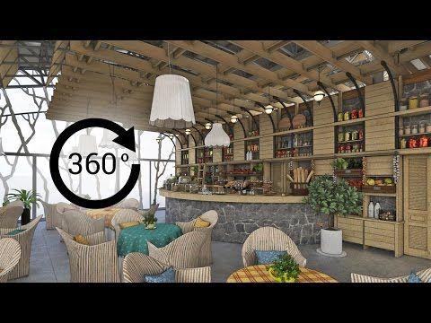 360° - 3D render   Интерьер   Детский развлекательный комплекс «ФЕРМА». Вид 1 - YouTube