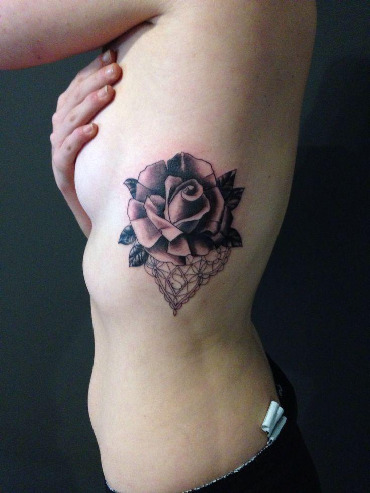 Tattoo rosa e pizzo rose Tattoo