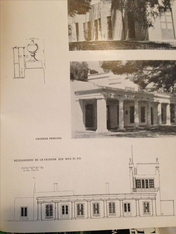 Arquitectura Argentina.  La Quinta Pueyrredon.  Bs. As.  Revista de Arquitectura, abril de 1943.