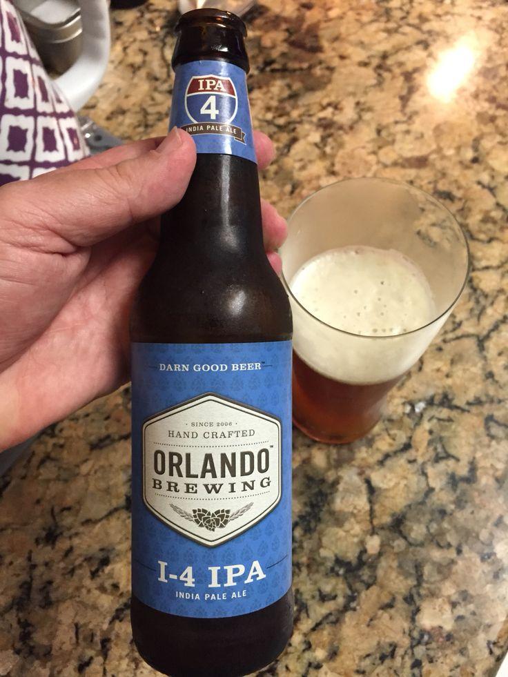 Orlando Brewing I4 IPA Beer LabelsCraft