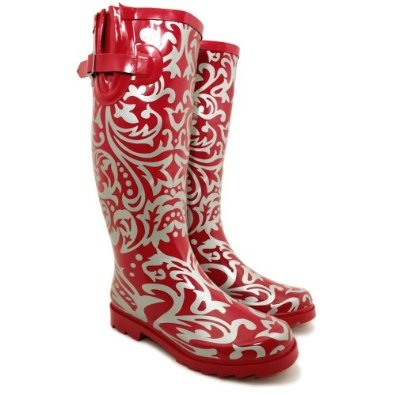 Pretty Patterned Wellies