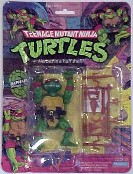 Teenage Mutant Ninja Turtles Action Figures: Raphael