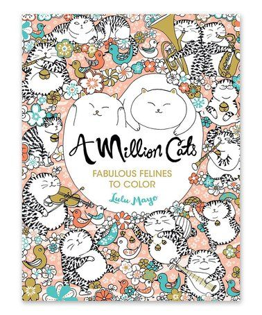 This A Million Cats Coloring Book Is Perfect Zulilyfinds