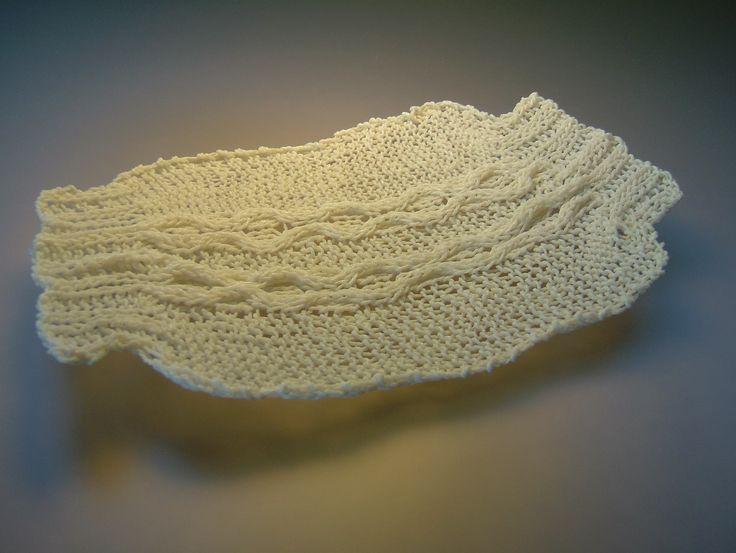 'wrap : garment series' feldspathic glaze knitting