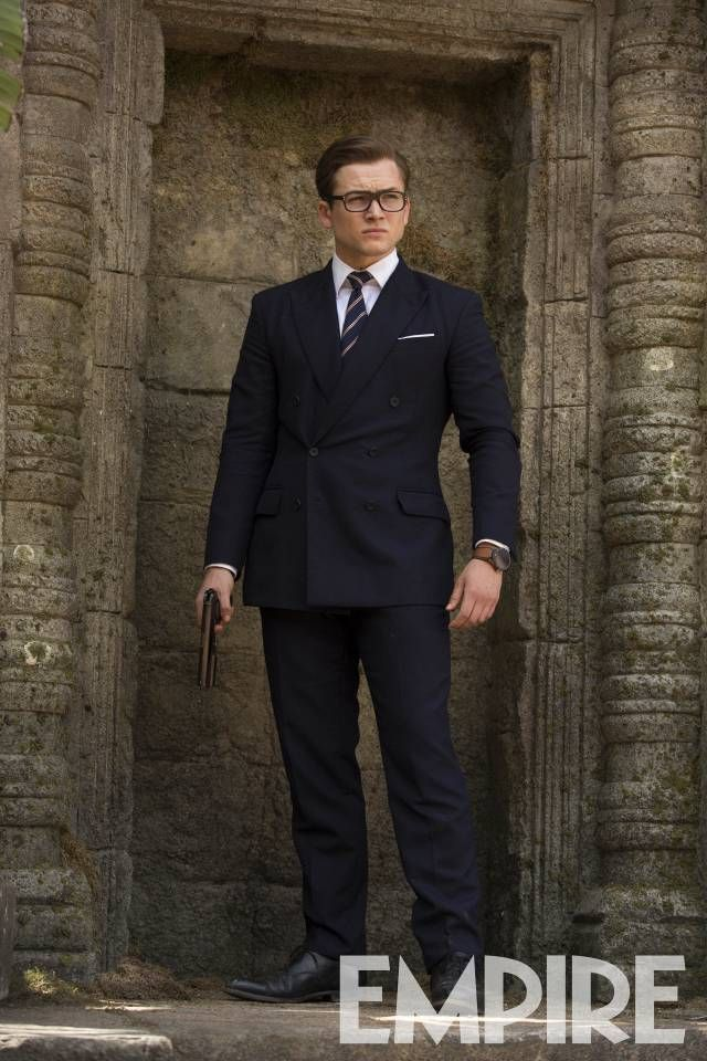 Kingsman: The Golden Circle    New pictures of Taron Egerton and Channing Tatum appear in the latest issue of Empire.